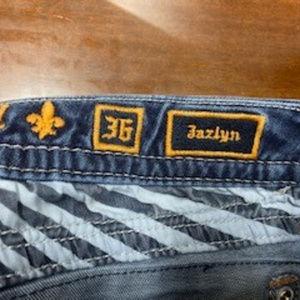 Rock Revival Jazlyn  Boot Cut Size 36 Curvy